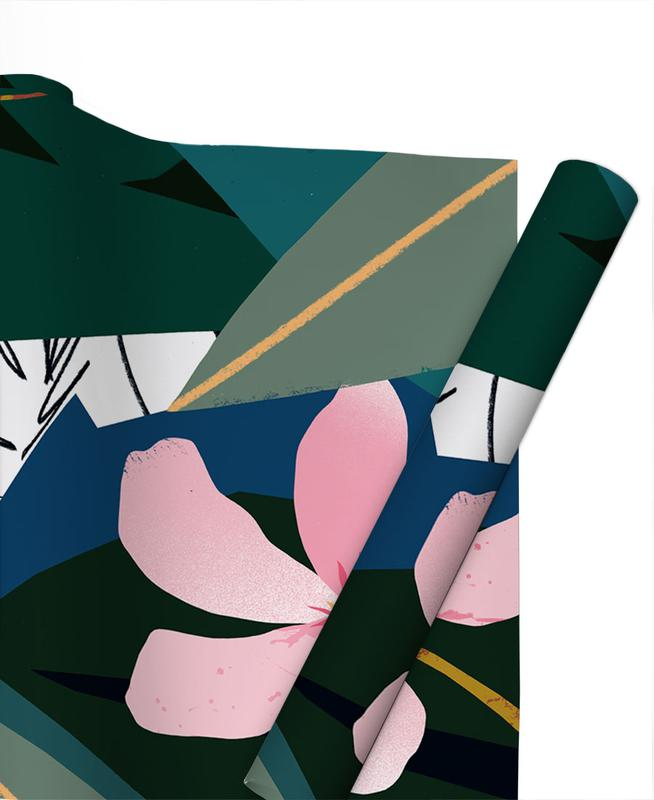 Oleander Gift Wrap