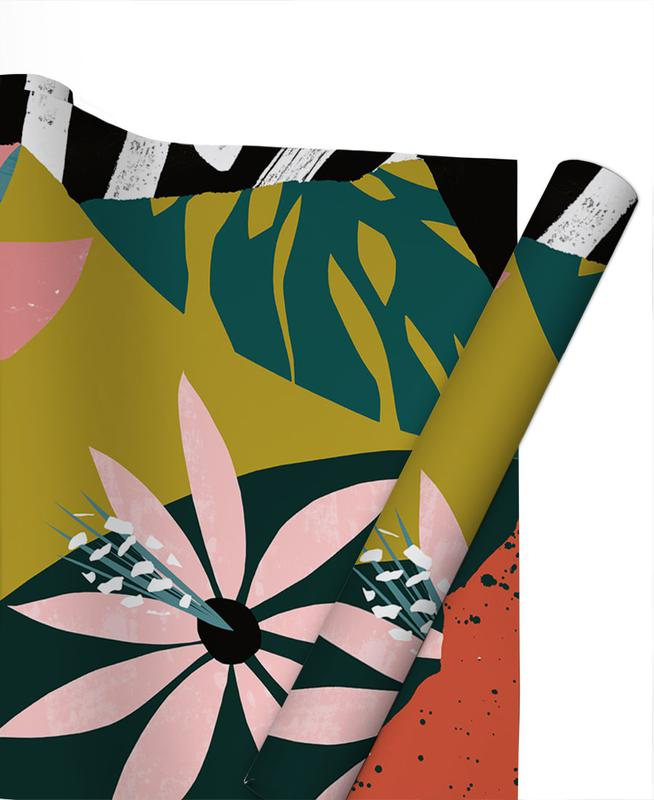 Leaves & Plants, Nectar Gift Wrap
