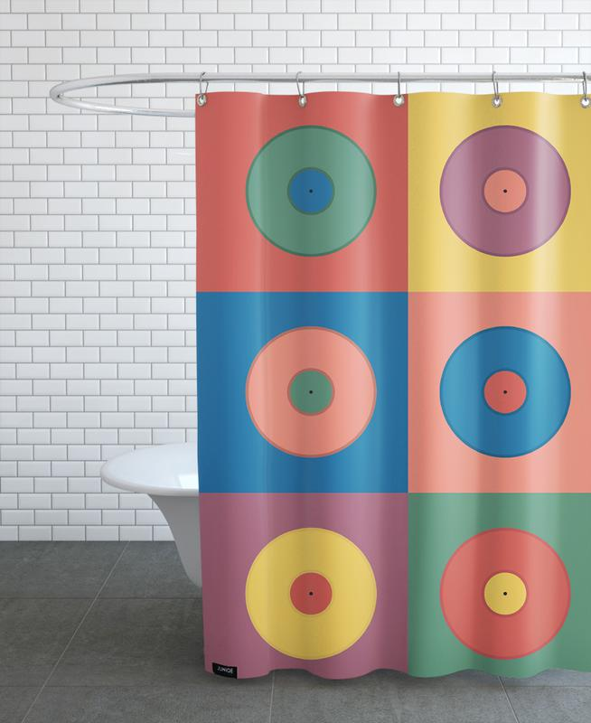 Vinyls Shower Curtain