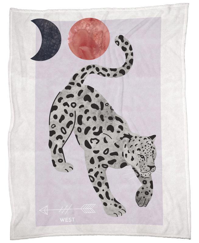 Spirit Animal - Jaguar -Fleecedecke