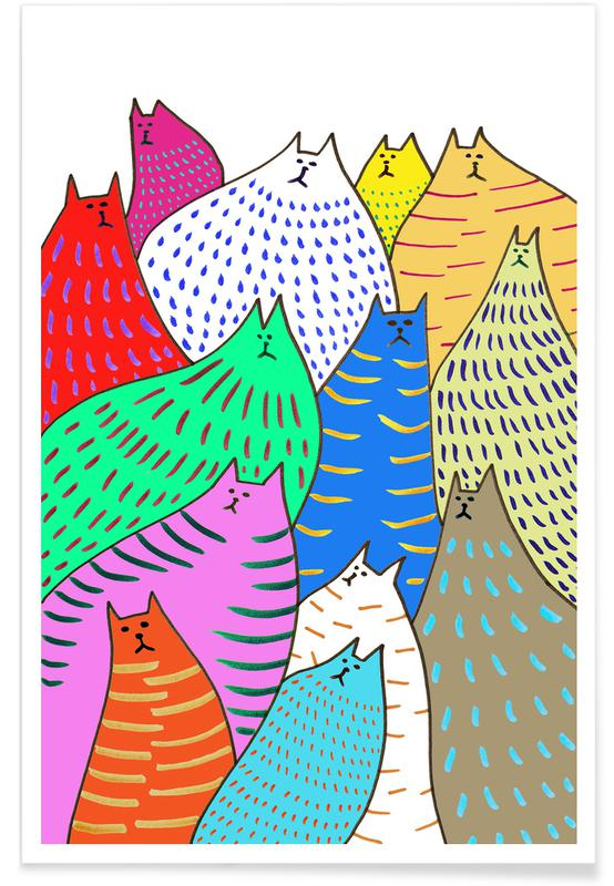 Cats Lots 2 -Poster