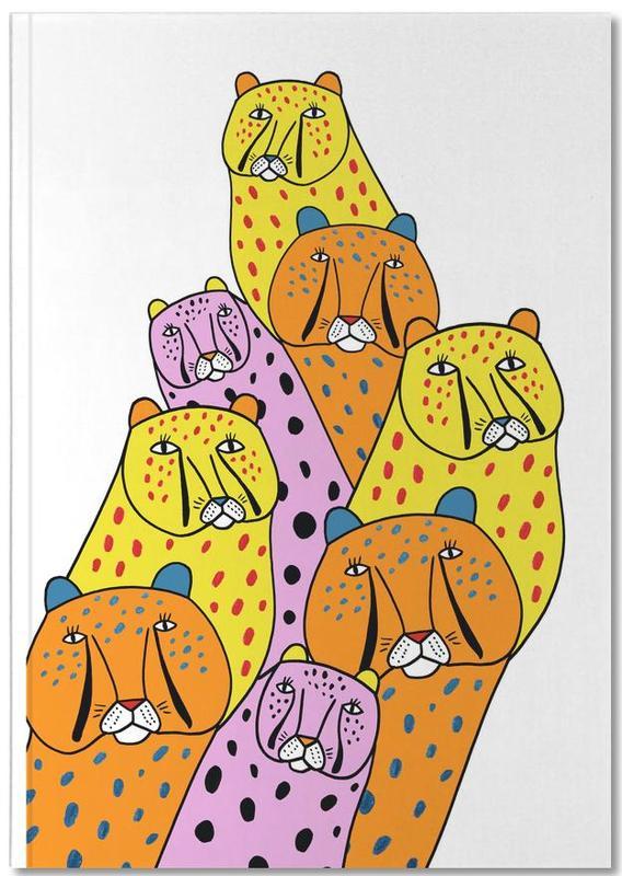 Nursery & Art for Kids, Cheetahs, Cheetah Gang Notebook