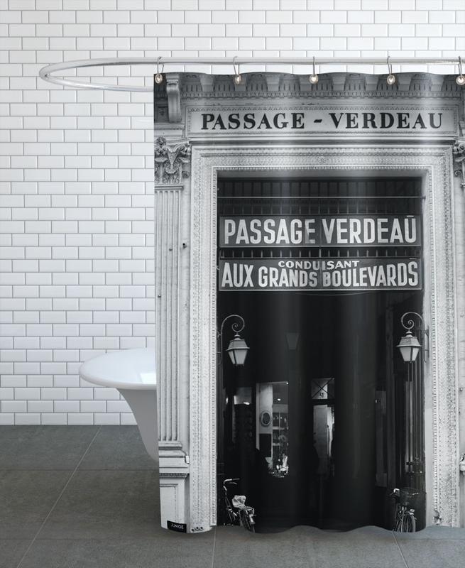 Passage Verdeau Shower Curtain