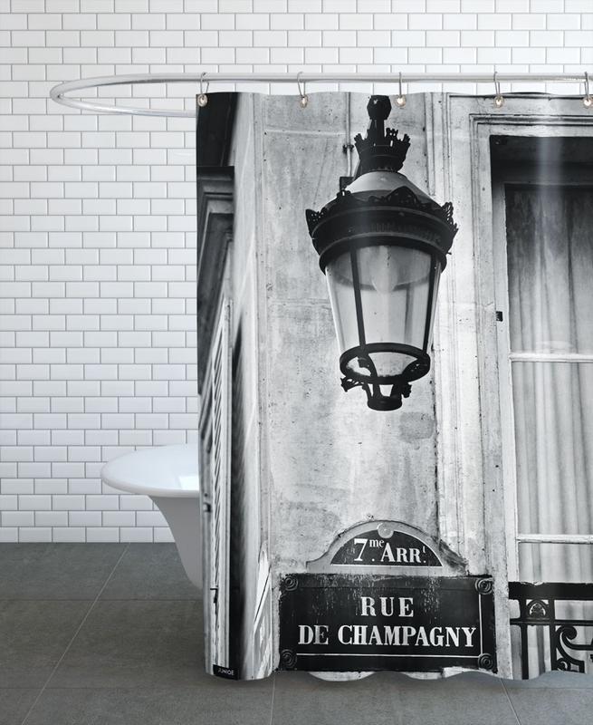 Rue de Champagny -Duschvorhang