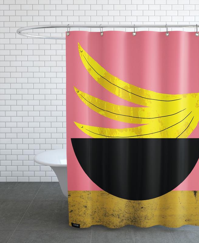 Banana -Duschvorhang