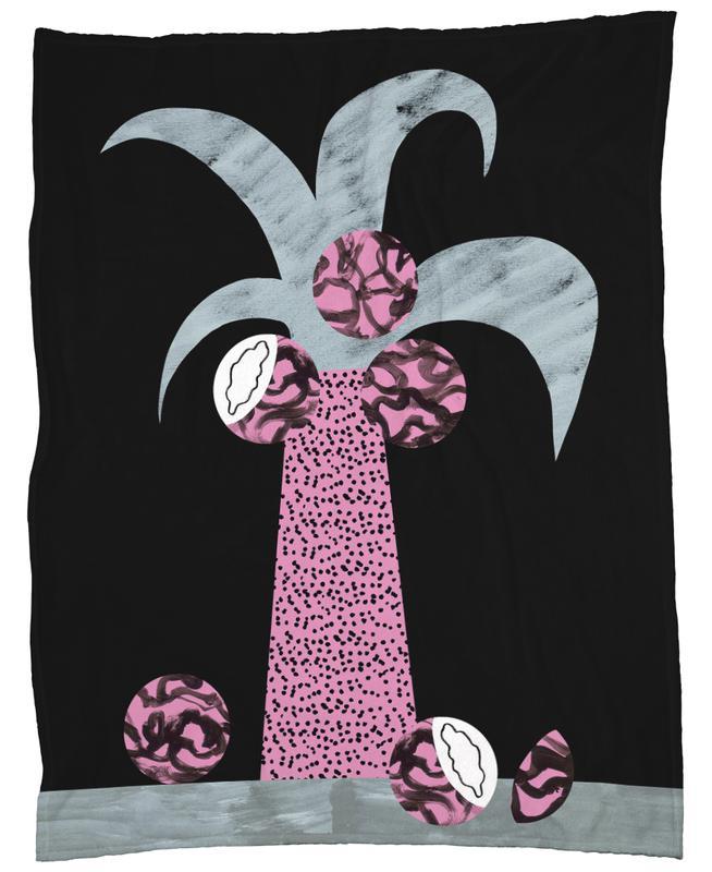 Tropciana - Royal Palm -Fleecedecke