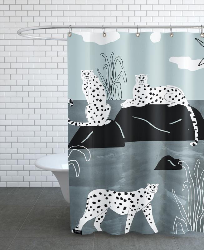 Tropciana - Royal Palm Shower Curtain