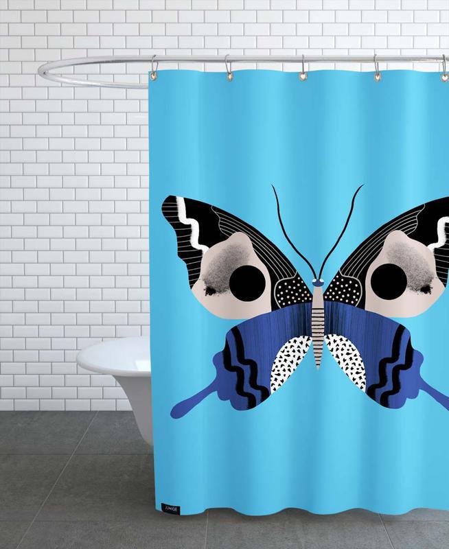 Butterflies - King Cracker -Duschvorhang