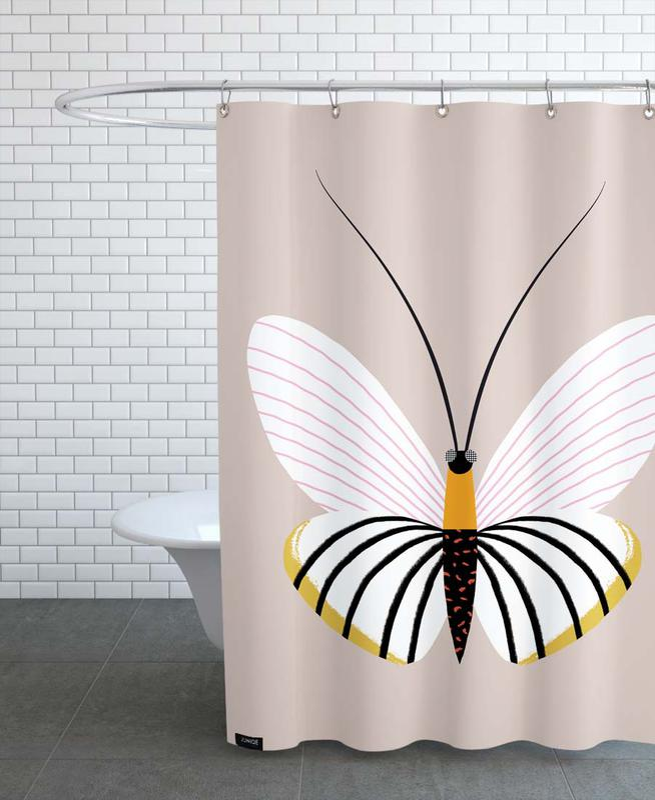Butterflies - Paper Kite -Duschvorhang