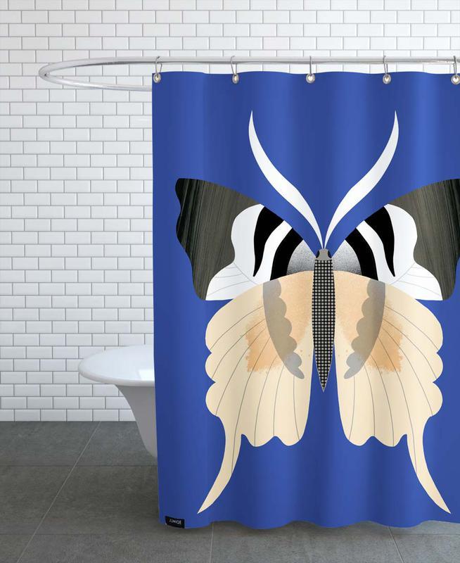 Butterflies - Tailed Emperor -Duschvorhang