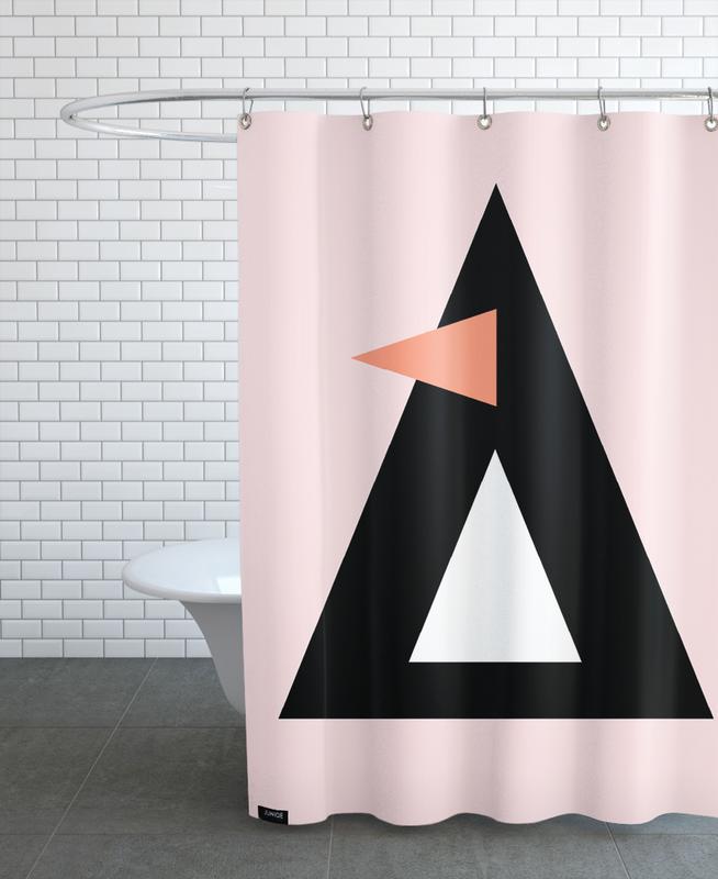 Nursery & Art for Kids, Penguins, Cher the Penguin Shower Curtain