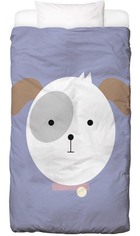Hunde, Kinderzimmer & Kunst für Kinder, Bonnie the Dog -Kinderbettwäsche