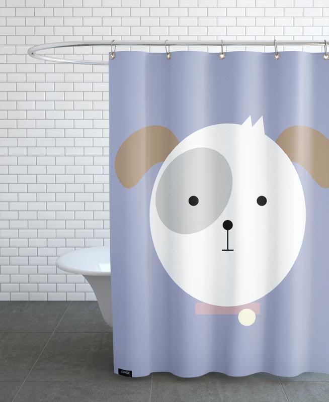 Chiens, Art pour enfants, Bonnie the Dog rideau de douche