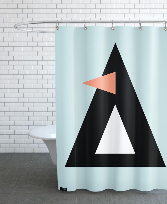 Nursery & Art for Kids, Penguins, Sonny the Penguin Shower Curtain