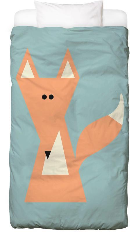 Ray the Fox -Kinderbettwäsche
