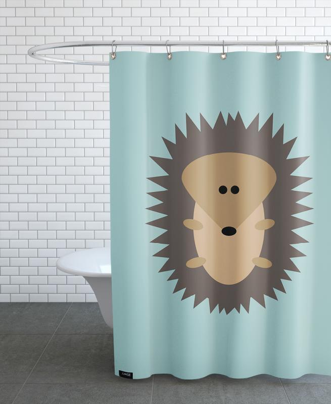 Art pour enfants, Freddy the Hedgehog rideau de douche