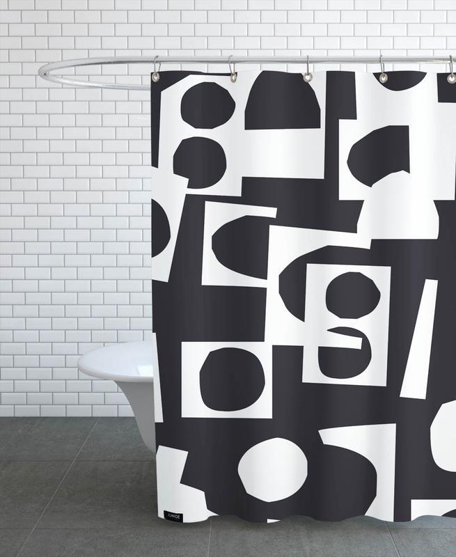 Collage 2 -Duschvorhang