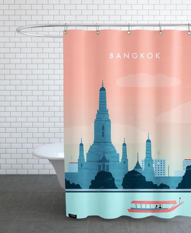 Bangkok Shower Curtain