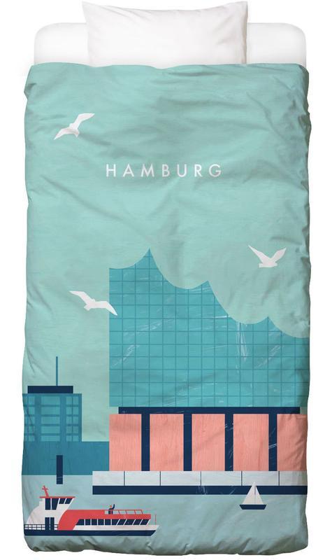 Hamburg Elbphilharmonie Bettwäsche