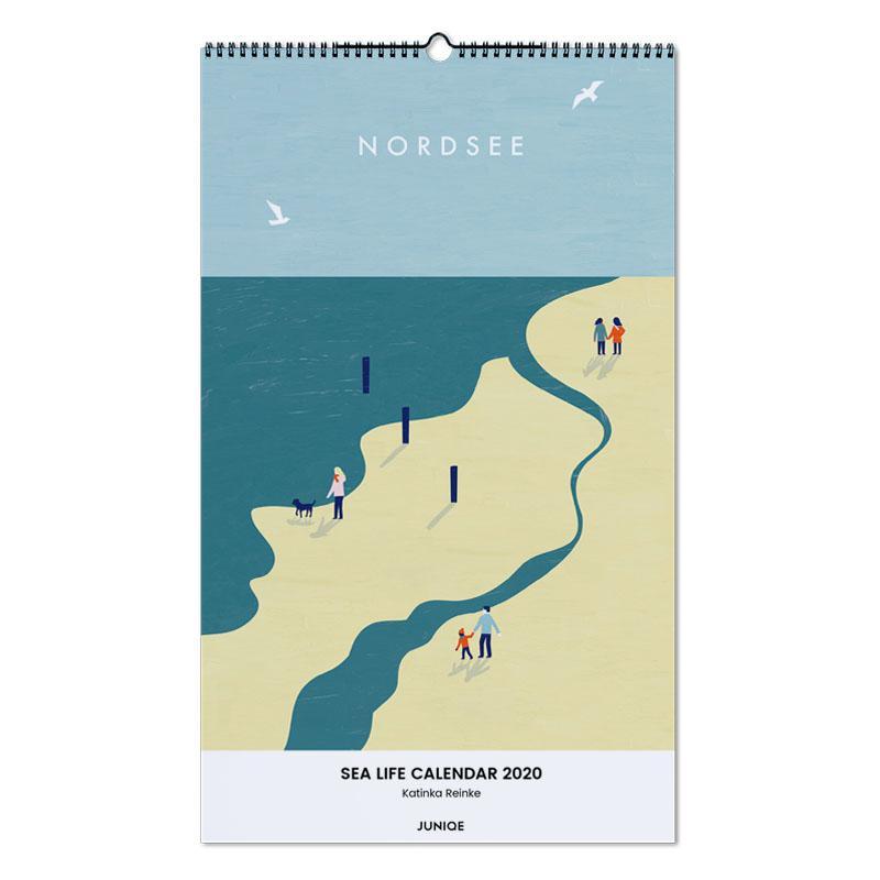 Sea Life Calendar 2020 - Katinka Reinke calendrier mural