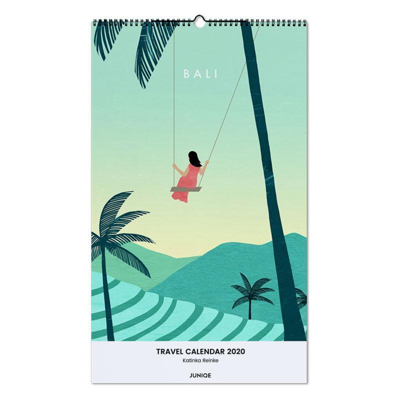 Travel Calendar 2020 - Katinka Reinke calendrier mural