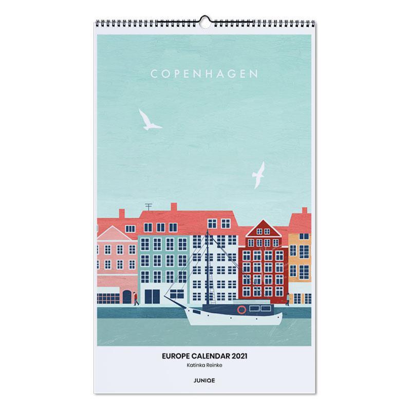 , Katinka Reinke - Europe Calendar 2021 -Wandkalender