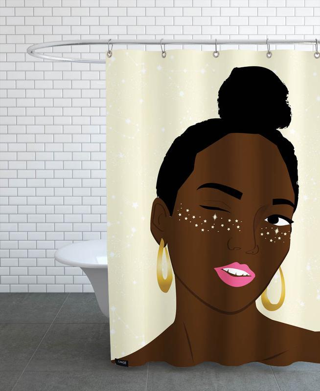 Sparkles -Duschvorhang
