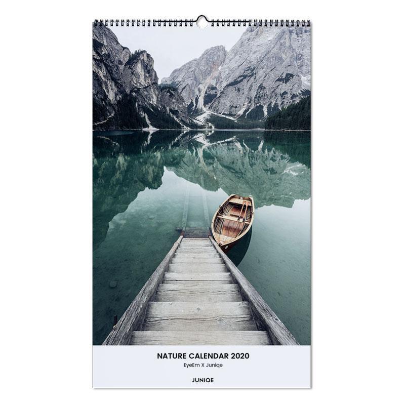 Nature Calendar 2020 - EyeEm x JUNIQE calendrier mural