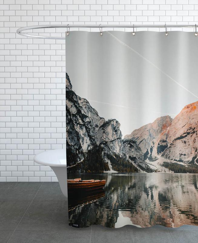 Mountains, Sunsets, Reflections Shower Curtain