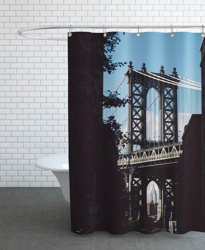 Bridge in Shadow -Duschvorhang