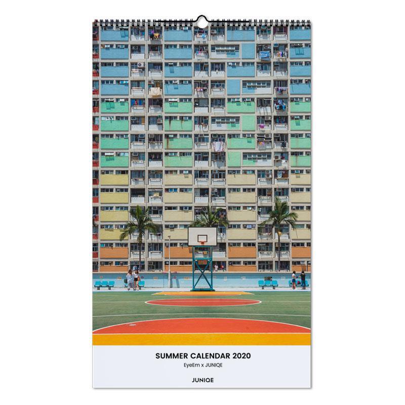 Summer Calendar 2020 - EyeEm x JUNIQE wandkalender