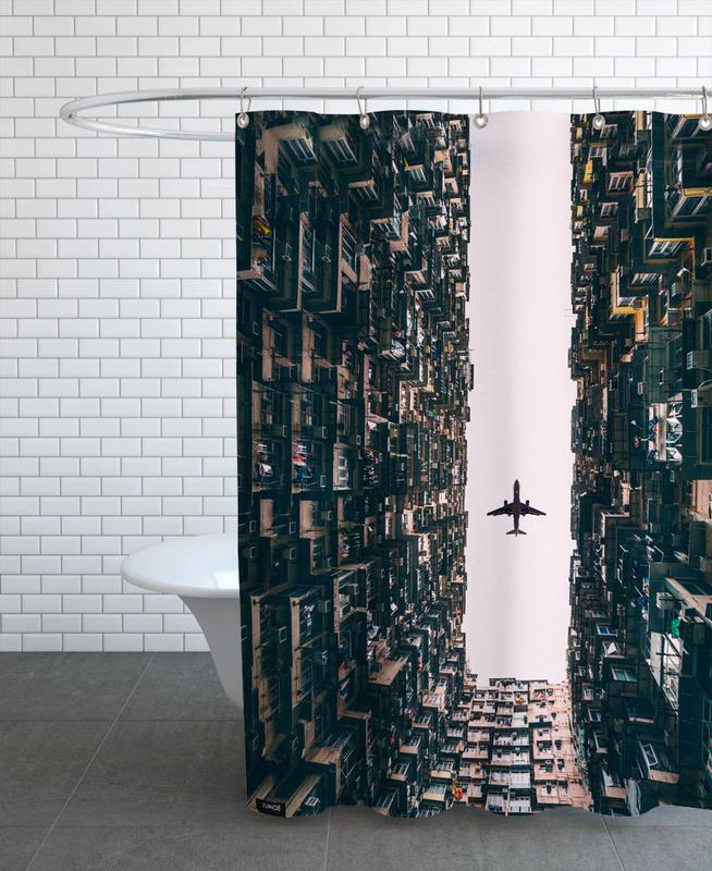 Watch It Soar by Kevin Cho Shower Curtain