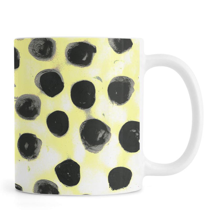 Cross Yellow Mug
