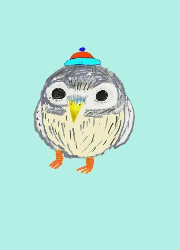 Baby Owl toile