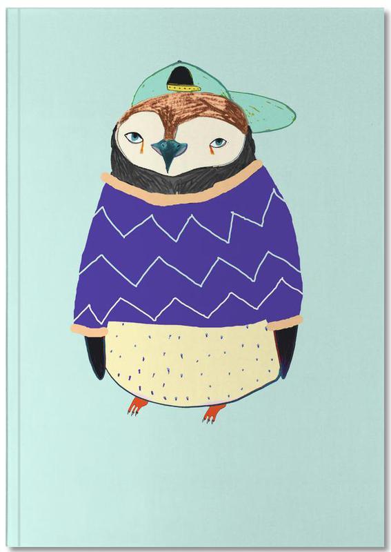 Nursery & Art for Kids, Penguins, Pengy Notebook
