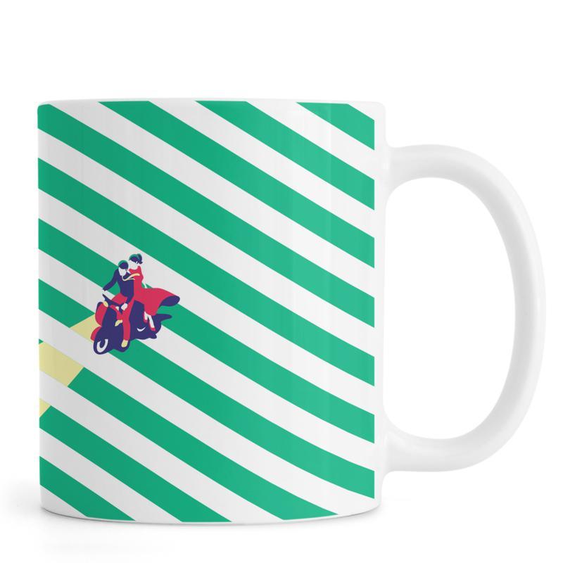 Vespa Love Mug