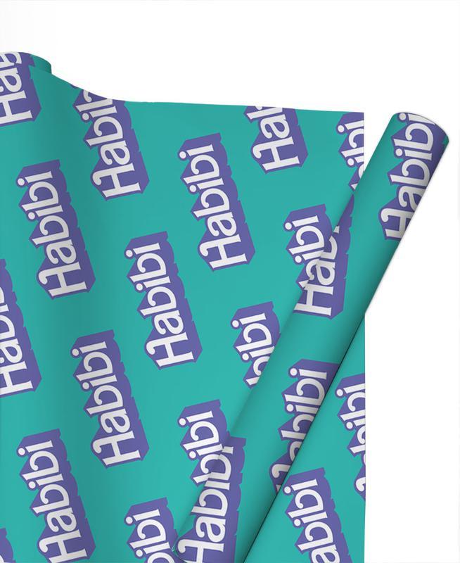 Habibi Pattern Gift Wrap