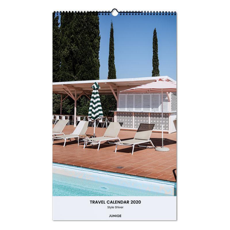 Travel Calendar 2020 - Style Shiver -Wandkalender