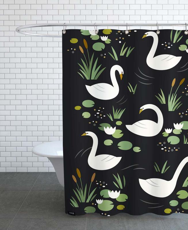 Swan Lake -Duschvorhang