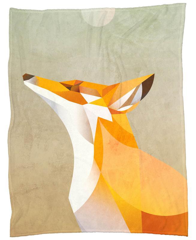 Morning Fox -Fleecedecke
