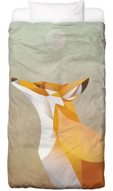 Morning Fox -Kinderbettwäsche