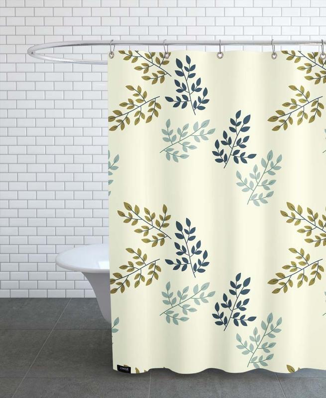 Twigs Light -Duschvorhang