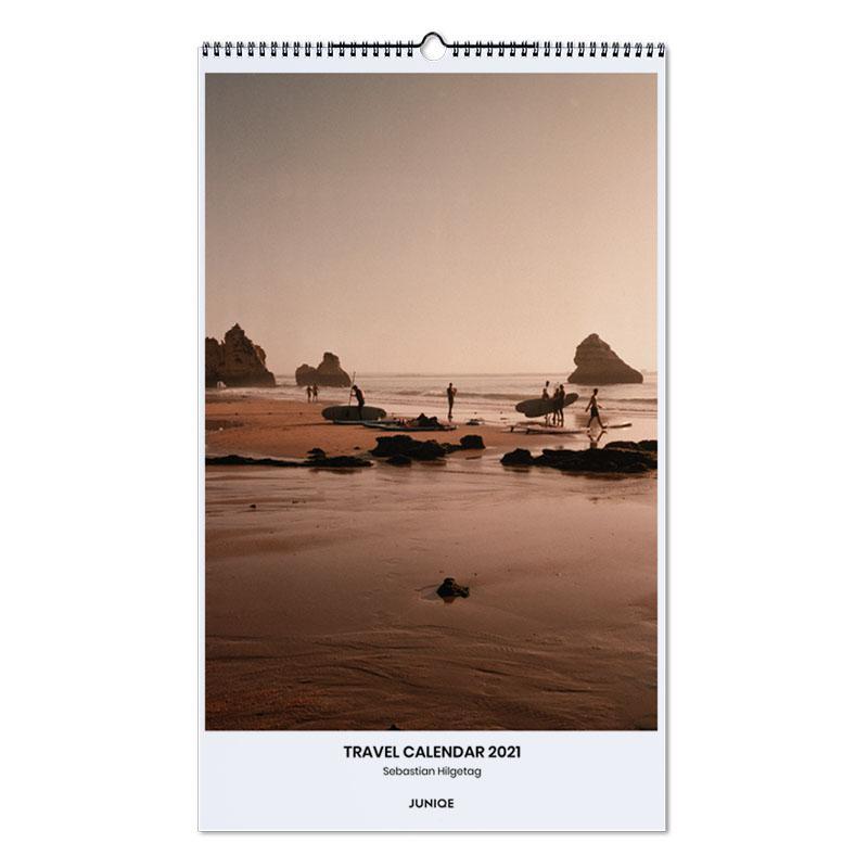 Reizen, Travel Calendar 2021- Sebastian Hilgetag wandkalender