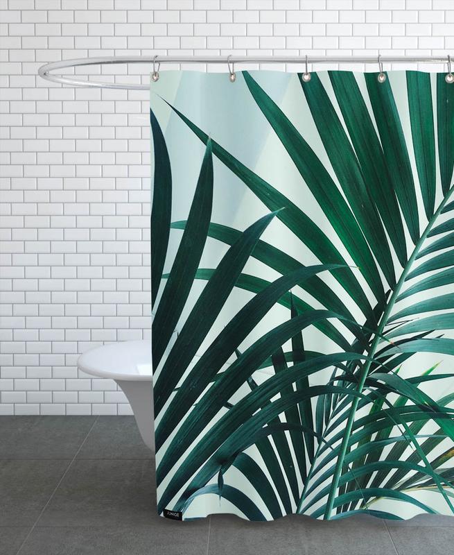 Palm Leaves -Duschvorhang