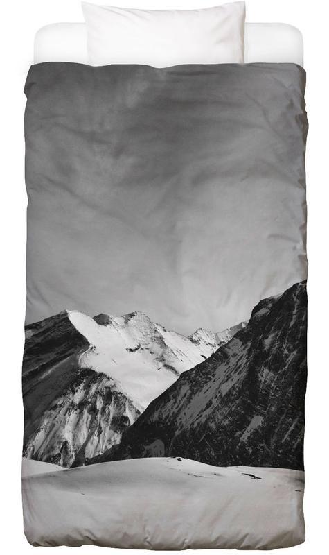 Black & White, Mountains, Mountains IV Bed Linen