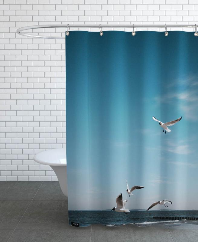 Seagulls IV Shower Curtain