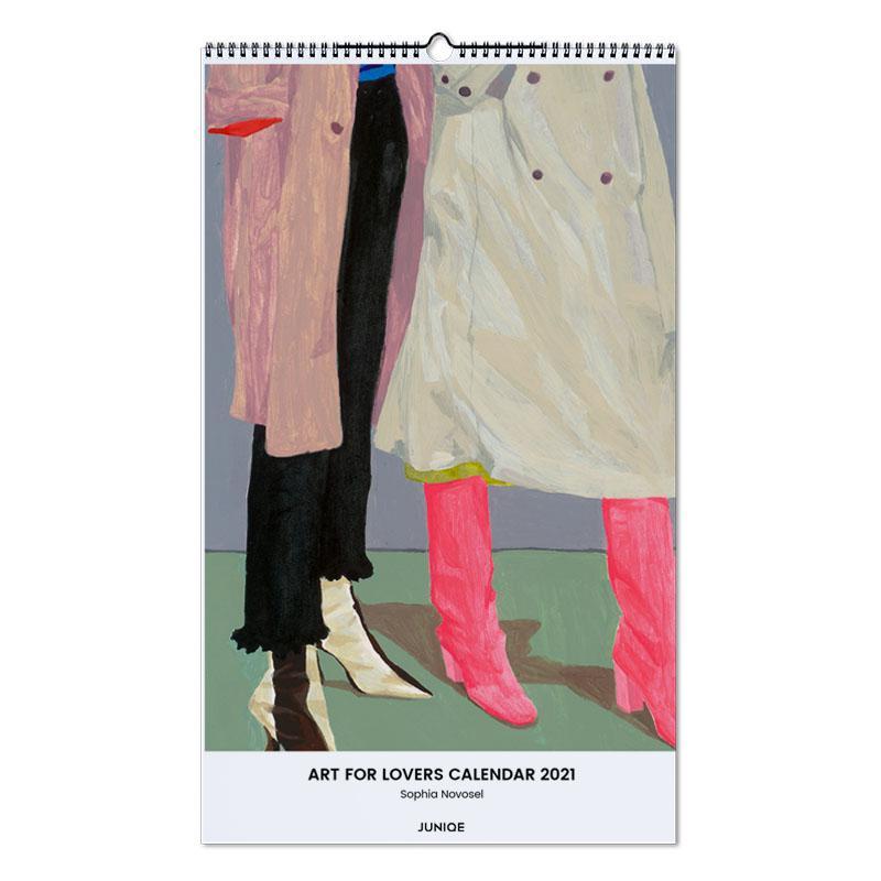 , Sophia Novosel - Art for Lovers Calendar 2021 Calendar 2021 wandkalender