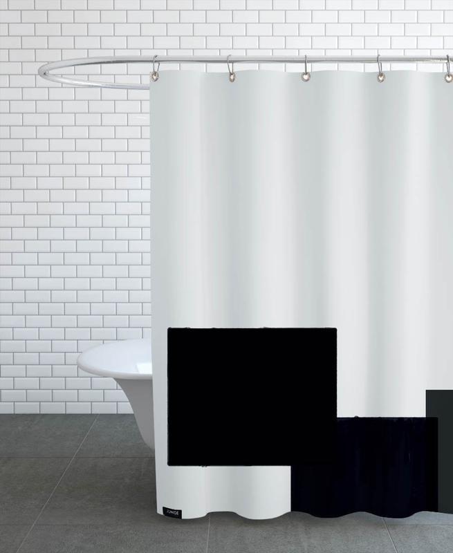 Three Dark Ones Shower Curtain