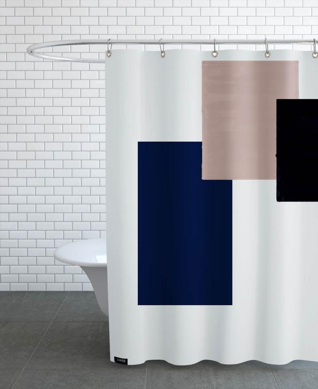 Three Different Ones Shower Curtain