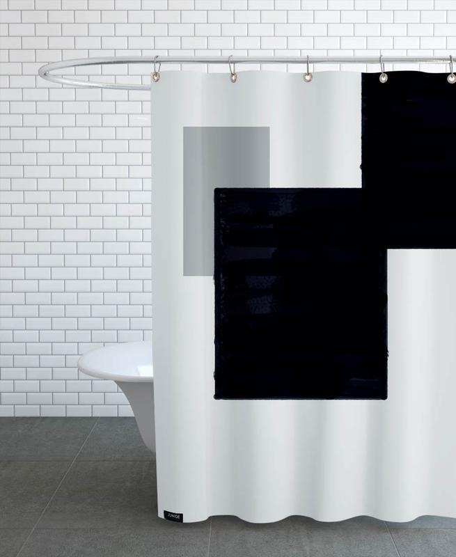 Dark and Brighter -Duschvorhang